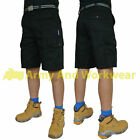 Mens Industrial Tough Click Work Shorts 6 Pocket Pants Combat Contractors Cargo