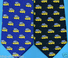 REDUCED! 100% Silk - Mouse on Cheese Wedge Novelty Fun 100% Silk Tie       #2417