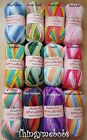 STYLECRAFT WONDERSOFT MERRY-GO-ROUND - SELF STRIPING - 6 COLOURS - 100g BALLS