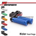 "M-Grip CNC 1.5"" Adjustable Riser Front Foot Pegs for Honda CB500X 2013 2014 2015"