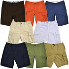Tommy Hilfiger Mens Cargo Shorts Classic Fit Flat Front Short Casual Logo New