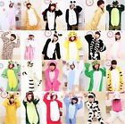 NEW Animal Unisex Onesie Kigurumi Fancy Dress Costume Hoodies Pajamas Sleepwear