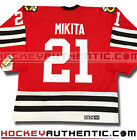 STAN MIKITA CHICAGO BLACKHAWKS JERSEY 1963 CCM VINTAGE RED