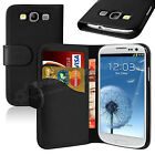 WALLET LEATHER FLIP CASE COVER FOR SAMSUNG GALAXY S3 i9300