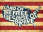 ART PRINT, FRAMED OR PLAQUE - BY SUSAN BALL - LAND OF THE FREE - SB317