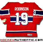 LARRY ROBINSON MONTREAL CANADIENS 1973 JERSEY CCM VINTAGE RED