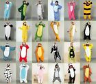 NEW Unisex Adult Kigurumi Pajamas Anime Cosplay Costume Onesie Sleepwear Dress