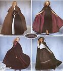 Simplicity 5794 SEWING PATTERN Best Hooded Cloak/Cape Medieval Goth LOTR/SCA