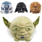 "Childrens Kids 6"" Star Wars Talking Character Plush Ball Soft Stuffed Toy Teddy"