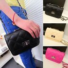 1PC Shoulder Bags Girls Women Faux Leather Handbag Messenger Shoulder Tote Bags