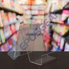 Book, Plate, Phone, Tablet Acrylic Display Stand Perspex Retail Cookbook Holder