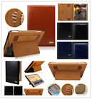 Ultra Thin Smart  Original Leather Stand Case Cover For ipad 2/3/4/Air/Air2 Mini