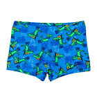 Zoggs Snorkels Hip Racer 18  Boys  Swimming Shorts - Blue Multi