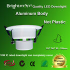 10 x 10W IC LED DOWNLIGHT KIT DIMMABLE 92MM CUTOUT WARM WHITE  SAA/RCM
