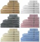 Ideal Textiles®, 100% EGYPTIAN COTTON 10 PIECE BALE SET BUNDLE 500GSM TOWELS