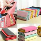 Fashion Lady Women Clutch Long Purse Leather Wallet Card Holder Handbag Bag MSYG