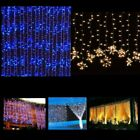 300/900/1800 LED Outdoor Fairy Curtains Bluff light for Xmas Wedding Party