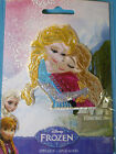 NEW DISNEY FROZEN Embroidered Appliques Iron On ** YOU CHOOSE ** Anna Elsa Olaf