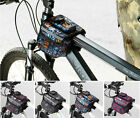 Personalized Fashion Cycling Bike Pannier Frame Bicycle Front Tube Double Bag