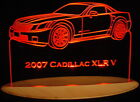 "2007 Cadillac XLR V Edge Lit Awesome 21"" Lighted Sign LED Plaque 07 VVD12 USA"