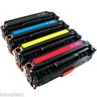 Set of 4 Toner Cartridges Non-OEM Alternative For HP CE410A,CE411A,CE412A,CE413A