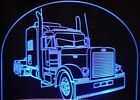 """Semi Truck 650A Edge Lit Awesome 21"""" Lighted Sign LED Pla..."""