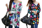 Large Size Women's clothing New Autumn Long Sleeve Loose T-Shirt Lady Top Blouse
