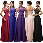Womens Elegant Long Lace Bridesmaid Cocktail Evening Party Formal Dress 6 8~20