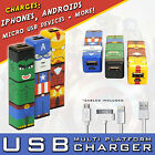 IronMan Comic Battery Phone Charger For IPhone, Android HTC, Nokia + 2200mAh