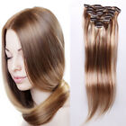 Clip In 100% Real Non-Remy Human Hair Extensions 7pcs/set 14- 15inch  70g