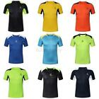 Mens Sport T-shirt Fitness Quick Dry Stretchy Tops Tee Shirt Short Sleeve M-3XL