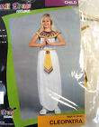 Cleopatra Child Costume Dress Girls 4-6 8-10 NIP