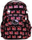 Ju Ju Be Be Right Back For Hello Kitty Hello Perky Backpack Baby Diaper Bag NEW