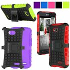 For LG Optimus L70 MS323 Exceed 2 Hybrid Rugged Armor Hard Kickstand Case Cover