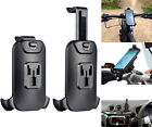 Motorcycle 21-30mm Dia Handlebar Clamp Mount + Holder For Micro USB Mobile Phone