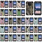 Cover for Samsung Galaxy S6 Active Y stand Hard Soft Camo Design Color Manly