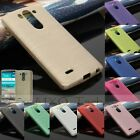 Brushed Soft TPU Gel Silicone Cover Case For LG Optimus G3 Mini/S/Beat D722 D724