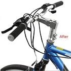 1Set Cycling Bicycle Handlebar Fork Stem Riser Rise Up Extend Head Up Adaptor LD