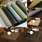 NEW PVC Waterproof Placemats Insulation Mat Table Coasters Kitchen Dining Table