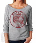 BAYSIDE TIGERS Saved By the Bell Kelly Halloween Costume 3/4 Sleeve Raglan Shirt