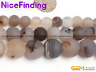 Wholesale Natural Round Frost Botswana Agate Beads For Jewelry Making Gemstone