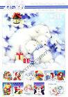 Christmas Cutie A5 3D Decoupage Book Le Suh Card Making Paper Crafts CUTTING REQ