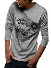 NEW Fashion Mens Crew Neck Long Sleeve Casual Shirt Tee