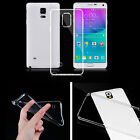 CLEAR SOFT TPU CASE BACK COVER FOR SAMSUNG GALAXY PHONE GORGEOUS ULTRA-THIN SLIM