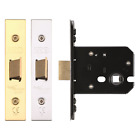 Flat Mortice Door Latch Lock Body Internal Door Catch & Strike Cover Plate