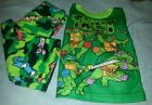 NWT TEENAGE MUTANT NINJA TURTLES pajamas BOYS 2 piece GREEN TMNT NICELODEON