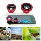 Magnetic 3in1 Wide Angle Macro lens Fish Eye camera for Android Phone HTC