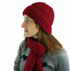 Spina Knitted Hat  Scarf Set