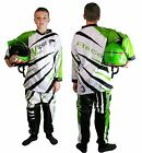 Kids CHILDRENS Motocross KIT Shirt & Trousers Race Quad OFF Road Kawasaki GREEN