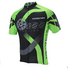 XINZECHEN Green Bike Short Sleeve Top Shirt Bicycle Cycling Jersey S-3XL CD1015